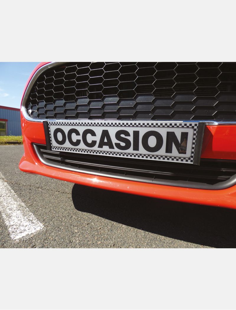 """Cache-plaque Premium """"Occasion"""""""