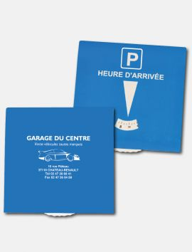Disque de stationnement européen à personnaliser