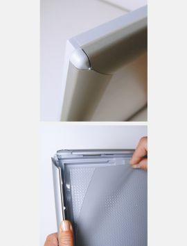 Cadre Clic-Clac lumineux à LED A4