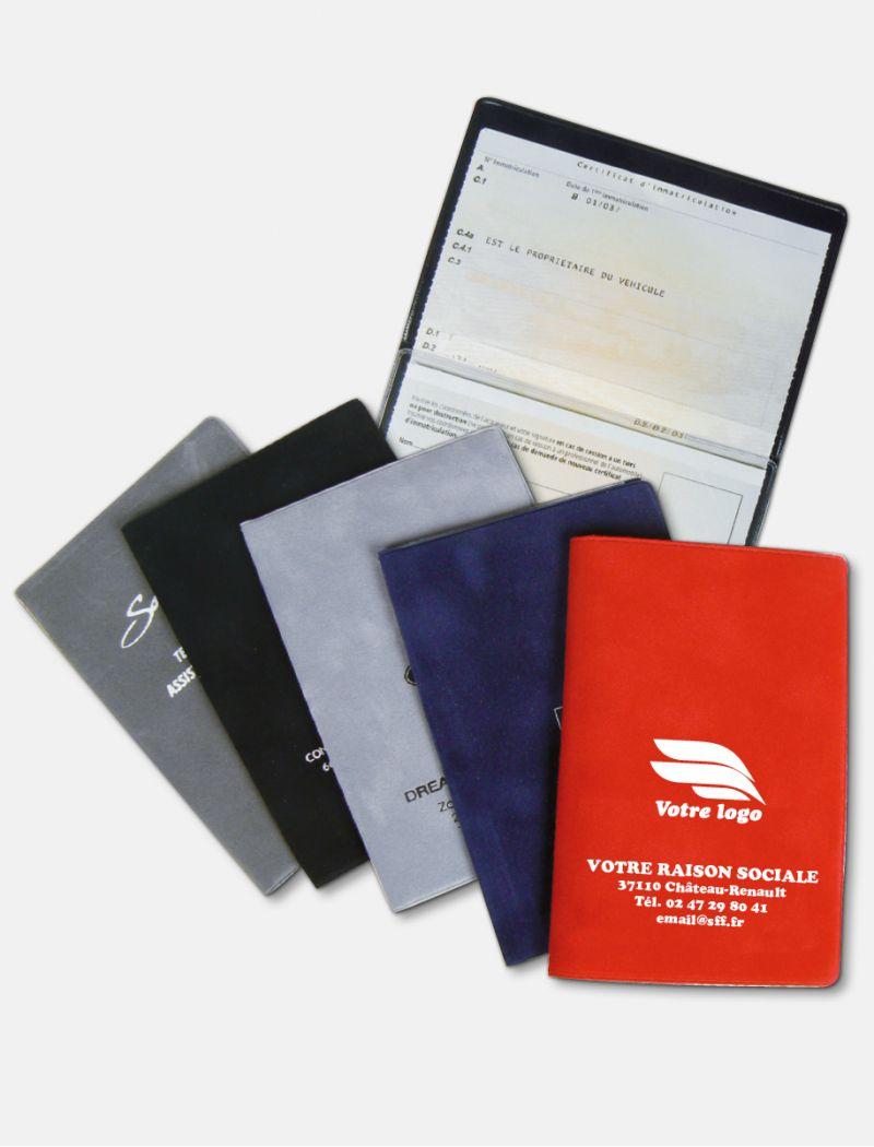 Porte-carte grise Velours