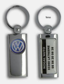 Porte-clés Totem Metallic Domé
