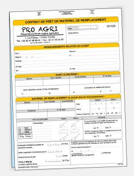 Contrat de prêt de matériel à titre gratuit