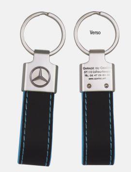 Porte-clés Clyde logo marque auto