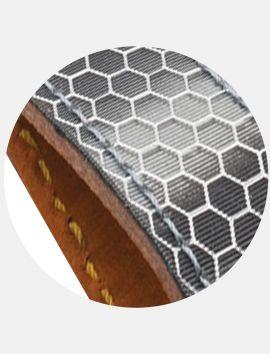 Porte-clés Nid d'abeille