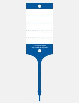 Etiquettes clés PVC