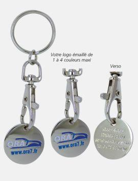 Porte-clés jeton à personnaliser
