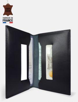 "Porte-carte grise collection cuir ""Oxford"""