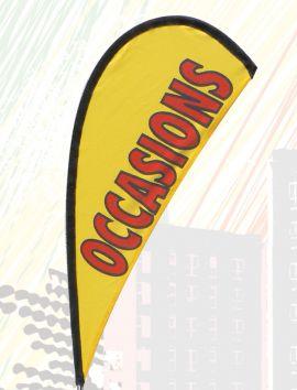 Voile pour drapeau de guidon rotatif Occasions