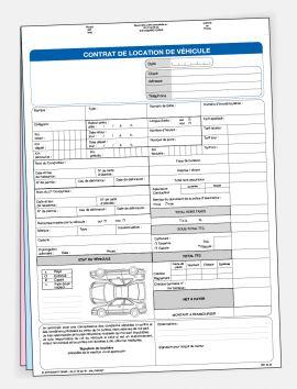 Contrat de location sans personnalisation