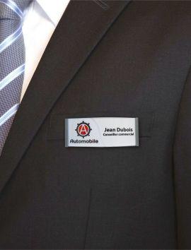 Badge d'identification