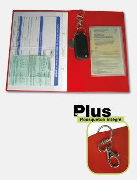 Pochette de prêt / Location de véhicule